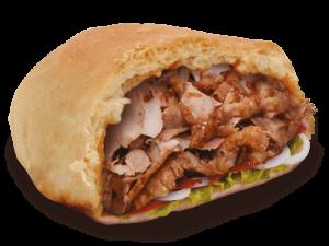 Snack Bilel, Sandwich